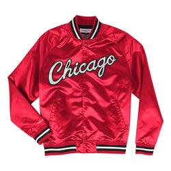 Lightweight Satin Jacket Chicago Bulls