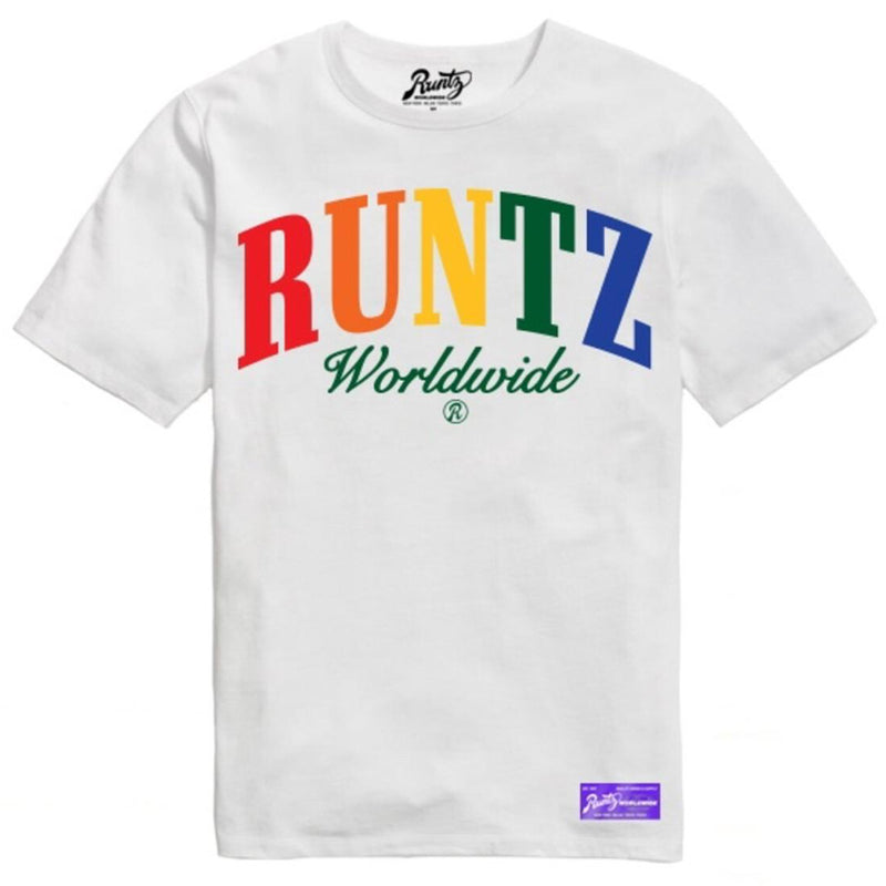 Runtz-Multi WorldWide Tee-White