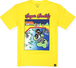 Civilized-Sugar Daddy Tee-Yellow