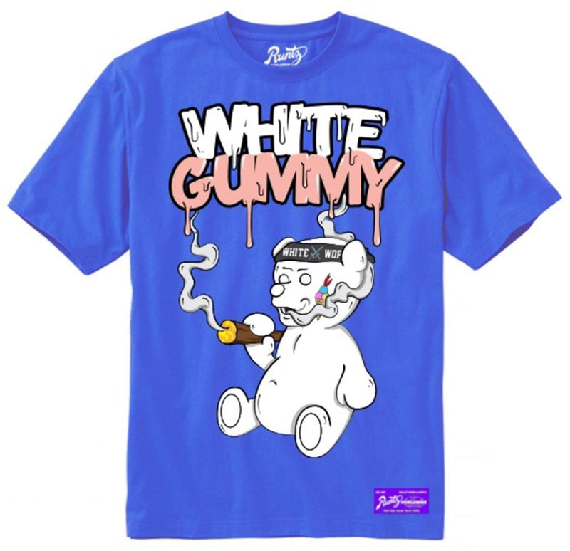 Runtz-White Gummy Tee-Royal