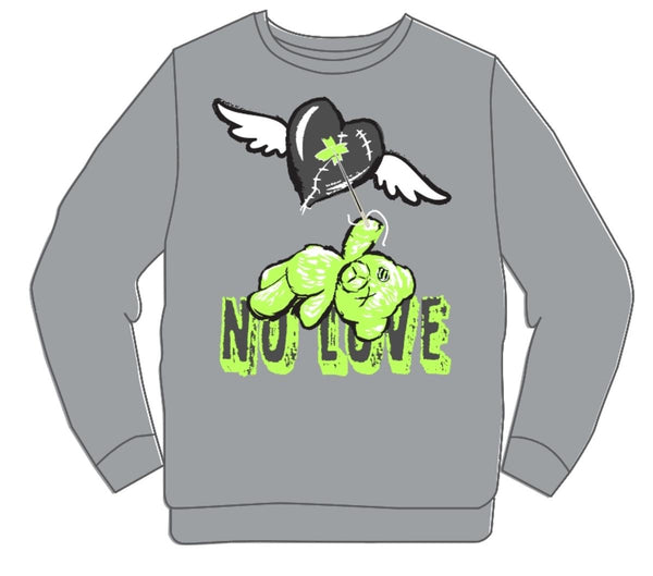 Retro Label-4's Volt No Love Crewneck-NL.2943