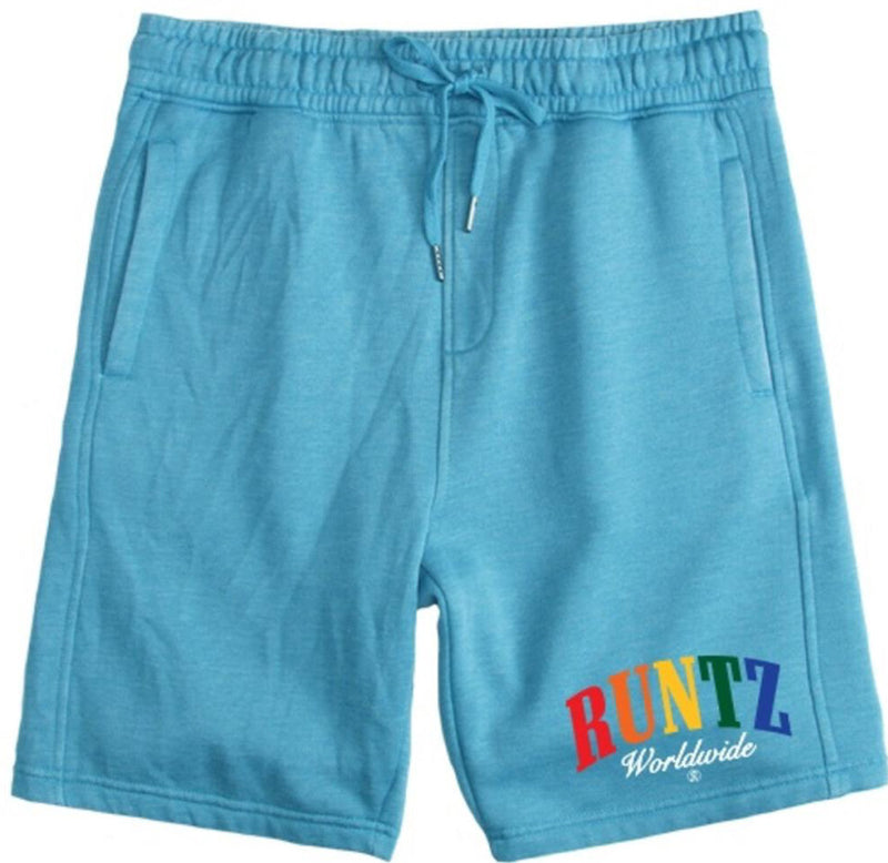 Runtz-Runtz Worldwide Shorts-Light Blue