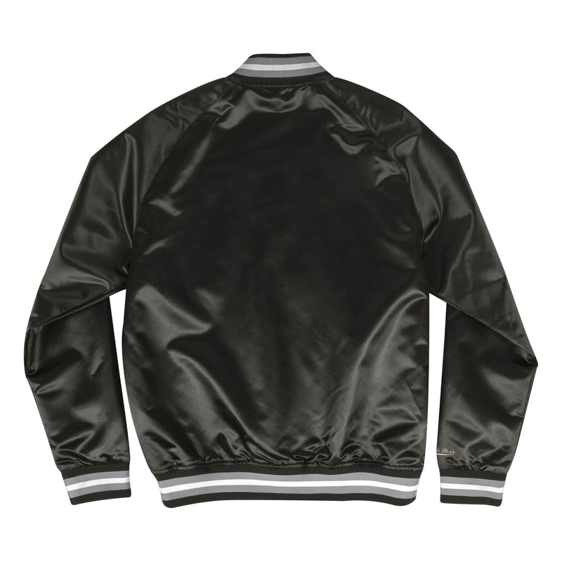 Lightweight Satin Jacket Oakland Raiders