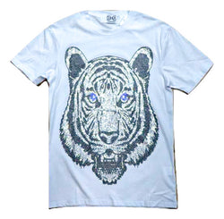 DNA-Tiger Stoned Tee-White