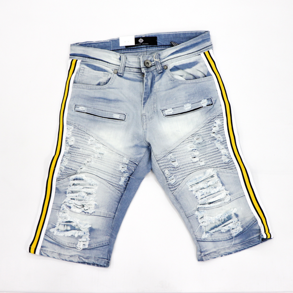 Focus Jeans-Motto Yellow/White Stripes-Light