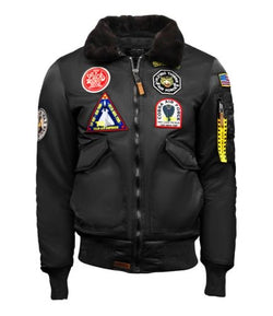 TOP GUN-Eagle Cw45 Jacket-BLK-TGJ1938