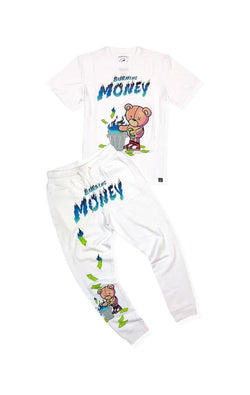 Civilized-Burning Money Set-White