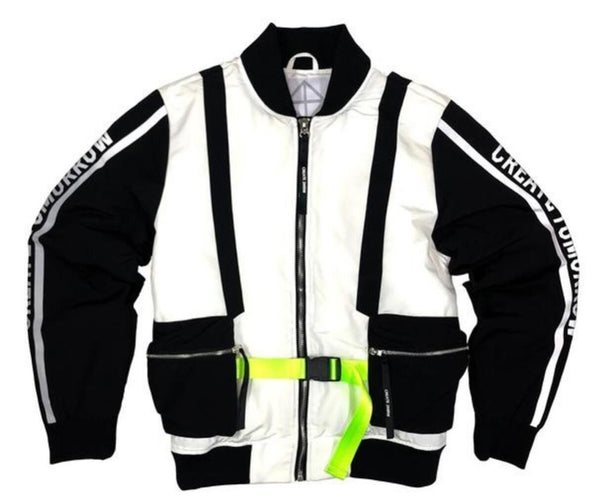 CREATE 2MRW-3D Multi Pocket Bomber-White