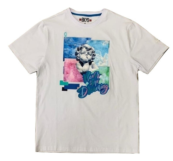 BKYS-Never Stop Dreaming Tee-White