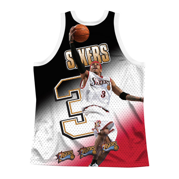 Behind The Back Tank Philadelphia 76ers Allen Iverson