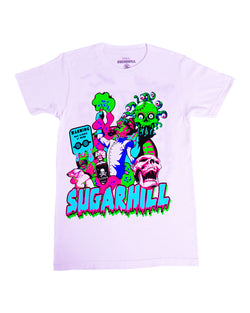 Sugarhill-Mad Scientist Tee-White