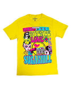 Sugarhill-Hippy Tee-Yellow