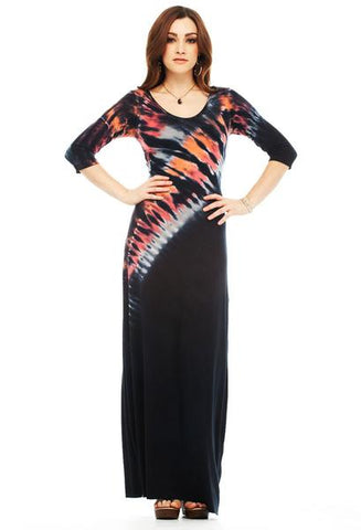 "Copy of 3/4 SLEEVE MAXI DRESS ""LIMITED EDITION"""