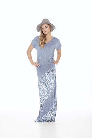 Boho Peek A Boo Maxi Dress