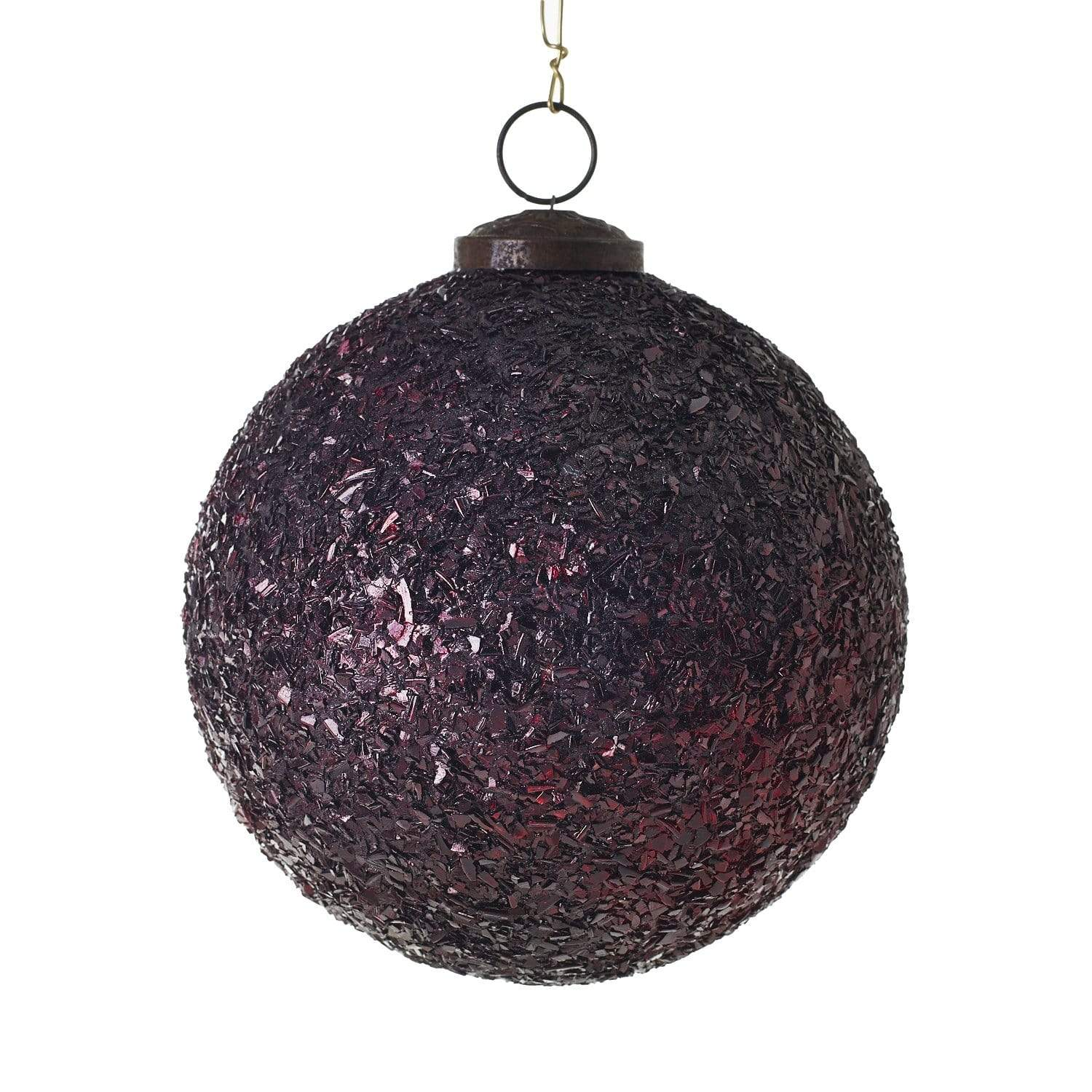 "5"" Melange Ornament - Dark Red Ornament Accent Decor"