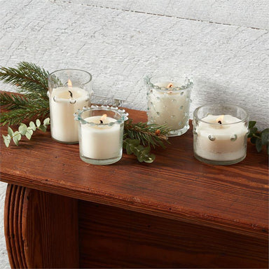 Beaded Glass Candles Candle Mud Pie