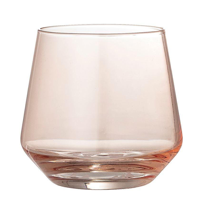 Blush Drinking Glass Drinkware Bloomingville
