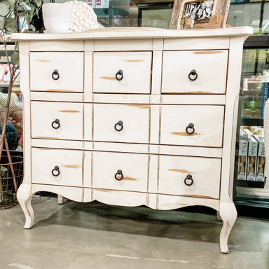 Cream White Dresser Furniture Paper Luxe