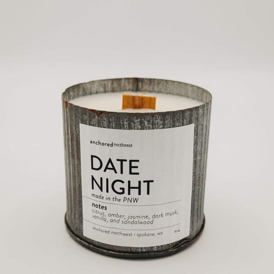 Date Night Candle Candle Anchored Northwest