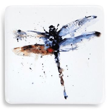 Dragonfly Magnet Magnet Demdaco Blue and Brown Dragonfly