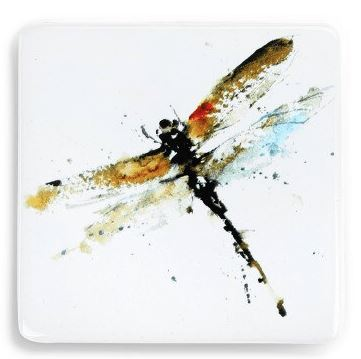 Dragonfly Magnet Magnet Demdaco Yellow Dragonfly