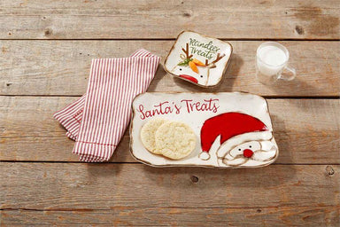 Farm Santa Cookie Set Tray Mud Pie