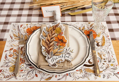 Feather Table Accent Placemats Hester and Cook