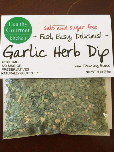 Garlic Herb Dip Mix Food and Beverage Healthy Gourmet Kitchen