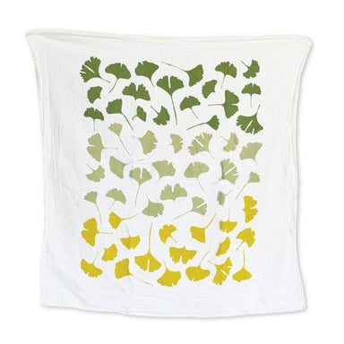 Ginkgo Tea Towel Tea Towel June & December