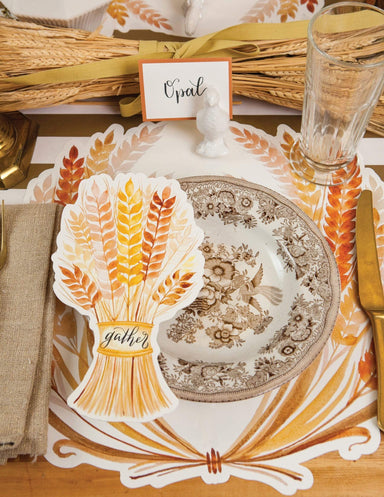 Golden Harvest Table Accent - Pack of 12 Party Supplies Hester and Cook