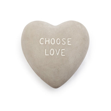 Heart Shaped Stone Decor Sugarboo Choose Love