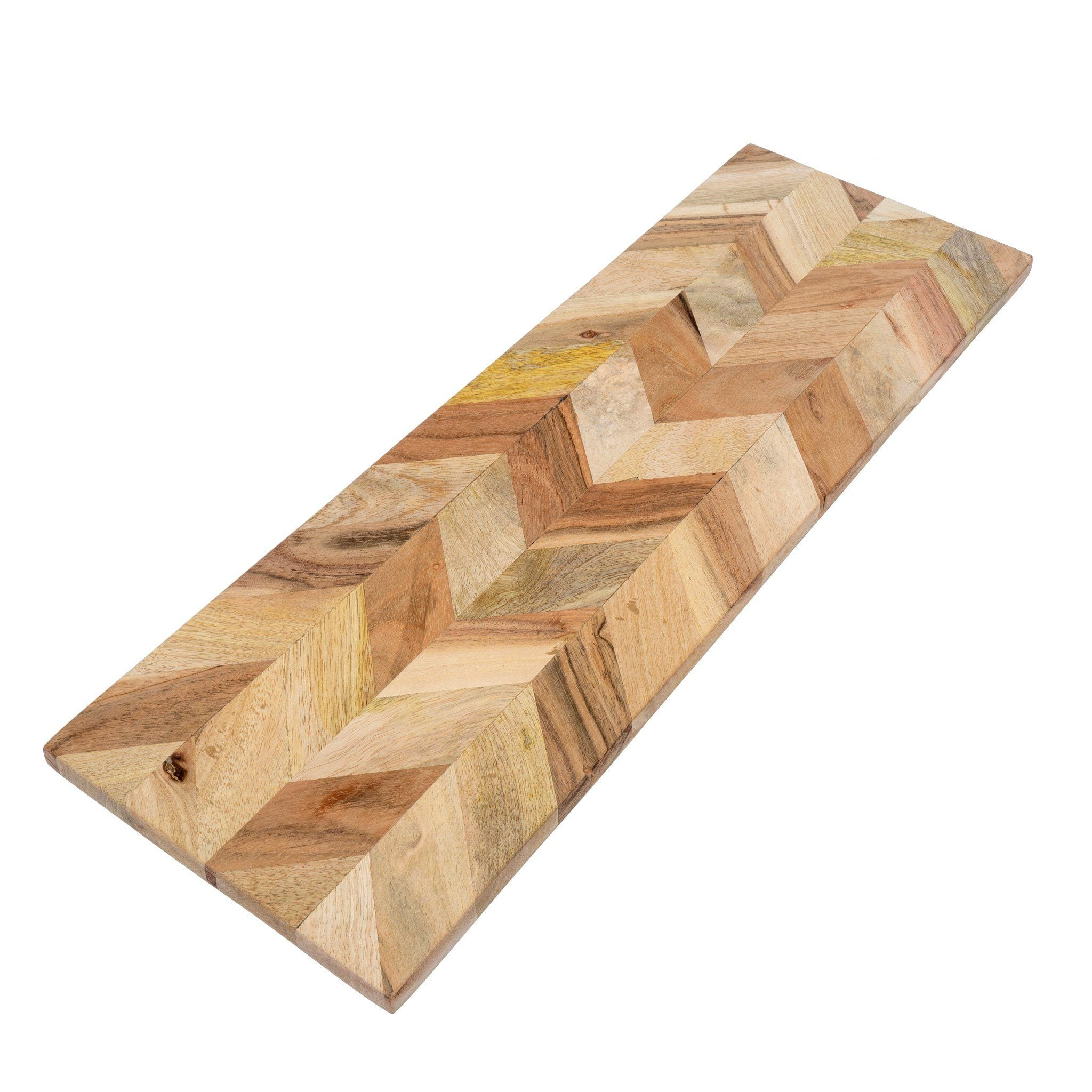 Herringbone Cheese Board Cutting Board Indaba Large