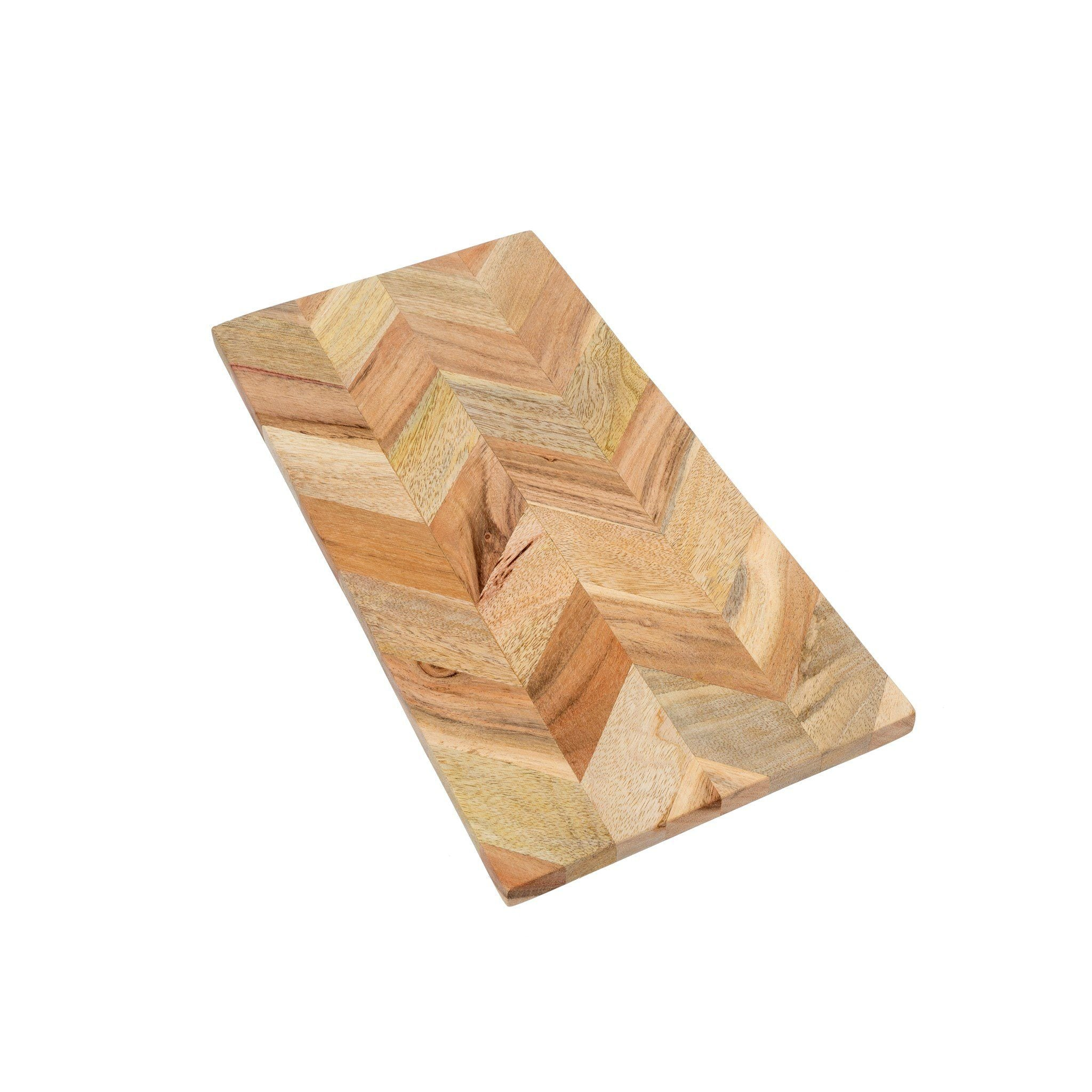 Herringbone Cheese Board Cutting Board Indaba Small
