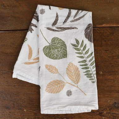 Leaf Pile Towel Tea Towel June & December
