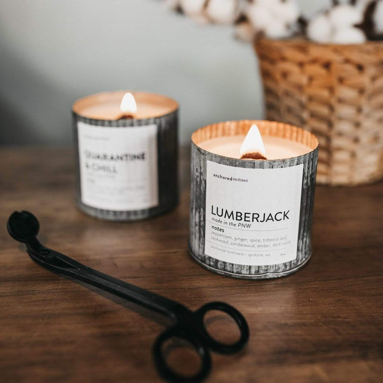 Make It Rain Candle Candle Anchored Northwest