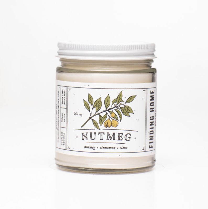Nutmeg Soy Candle Candle Finding Home Farms