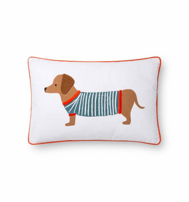 Rifle Paper Co. Dachshund Pillow Pillow Rifle Paper Co.