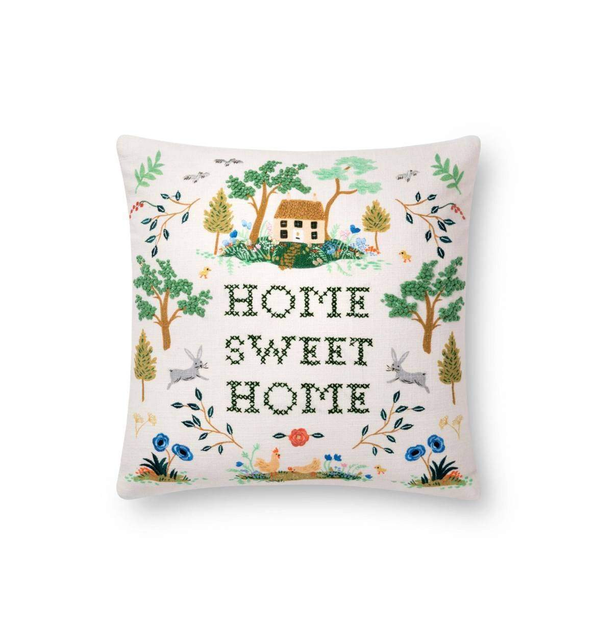 Rifle Paper Co. Home Sweet Home Pillow Pillow Rifle Paper Co.