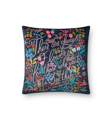 Rifle Paper Co. There Are Always Flowers Pillow Pillow Rifle Paper Co.