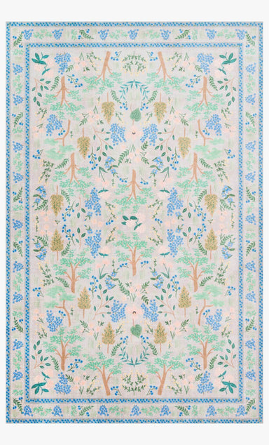 Rifle Paper Co. x Loloi Jardin Rug - Wildwood Garden Grey Rug Rifle Paper Co.