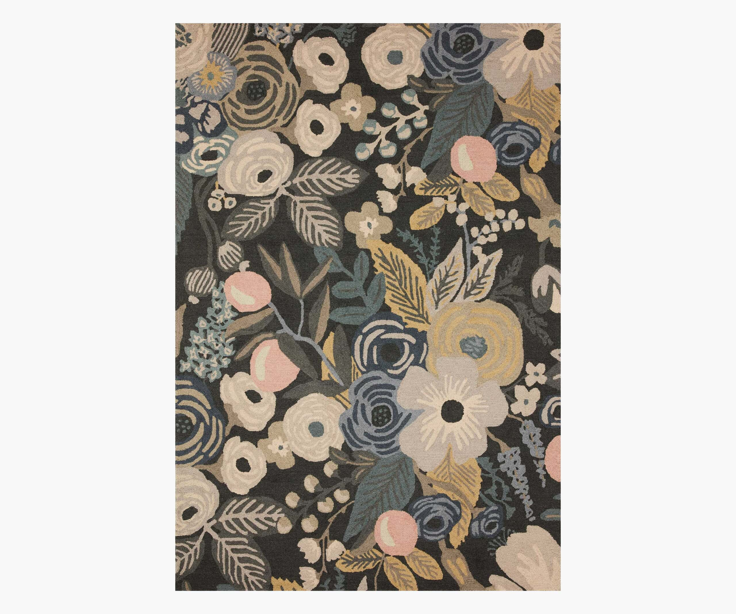 Rifle Paper Co. x Loloi Joie Rug - Garden Party Grey Rug Rifle Paper Co.