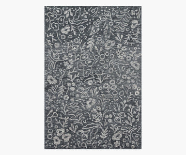 Rifle Paper Co. x Loloi Marion Rug - Charcoal Rug Rifle Paper Co.