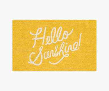 Rifle Paper Co. x Loloi Minnie Rug - Hello Sunshine Yellow Rug Rifle Paper Co.