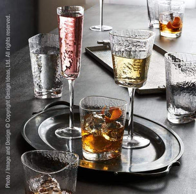 Serapha Champagne Flute Drinkware Design Ideas