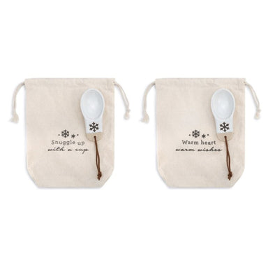 Snowflake Coffee Bag w/ Scoop Kitchen Demdaco