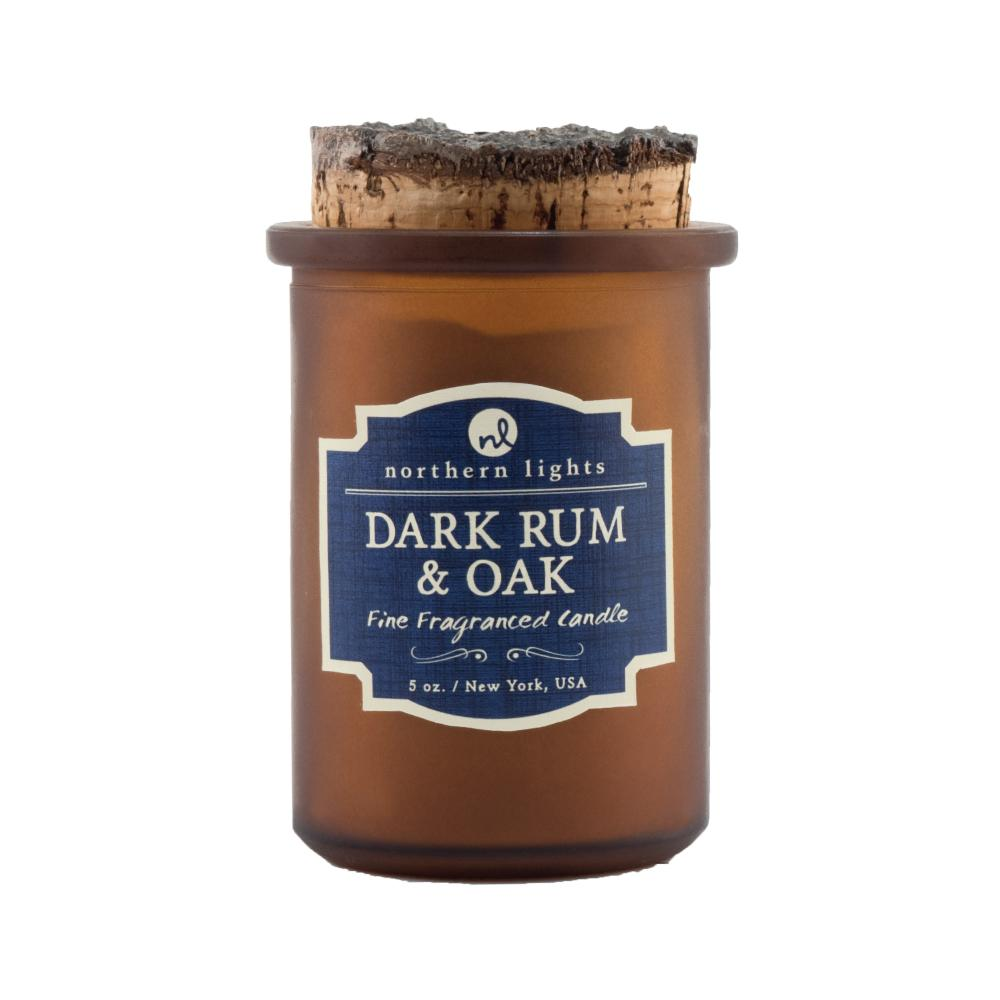 Spirit Jar - Dark Rum & Oak Candle Northern Lights