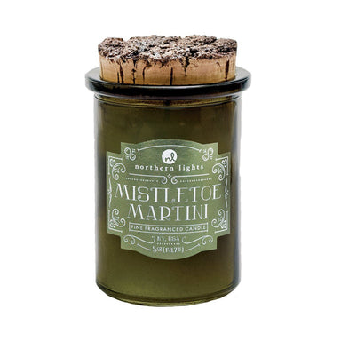 Spirit Jar - Mistletoe Martini Candle Northern Lights