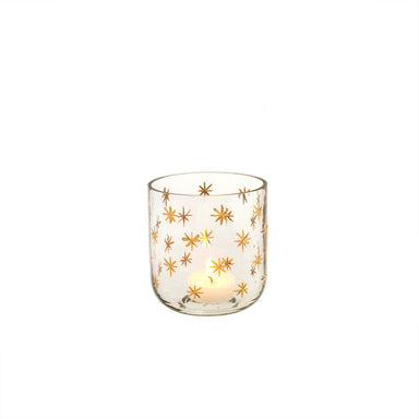 Starry Night Votive Candle Holder Indaba