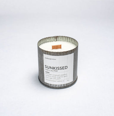 Sunkissed Candle Candle Anchored Northwest