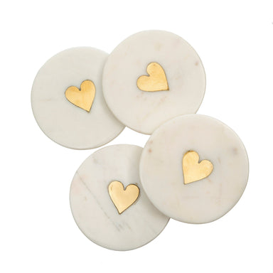 Sweet Heart Coaster Set of 4 Coasters Indaba